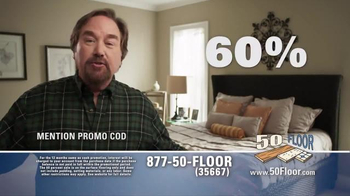 50 Floor TV Spot, 'Simple and Easy' Featuring Richard Karn
