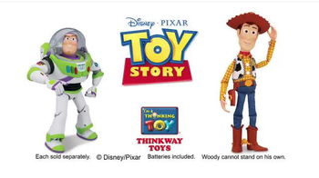 Talking Buzz Lightyear & Woody TV Spot, 'Create a Toy Story' - Thumbnail 10