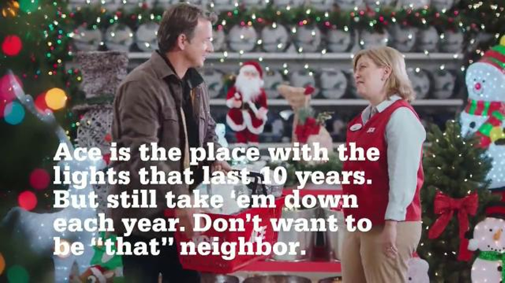 ace hardware tv commercial holiday lights ispottv