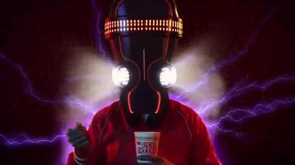 Nissin Cup Noodles TV Commercial, 'I'm Just Warming Up: DJ'