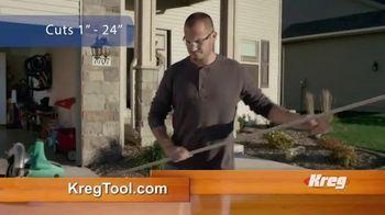 Kreg Rip-Cut TV Spot, 'Make Perfect Cuts'