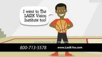 The LASIK Vision Institute TV Spot, 'Poor Eyesight Making Life Difficult?'