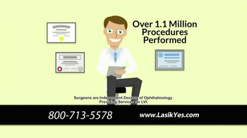 The LASIK Vision Institute TV Spot, 'Poor Eyesight Making Life Difficult?' - Thumbnail 2