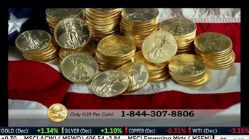 U.S. Money Reserve TV Spot, \'Release of Solid Gold Coins\'