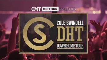 CMT On Tour TV Spot, 'Cole Swindell's Down Home Tour'