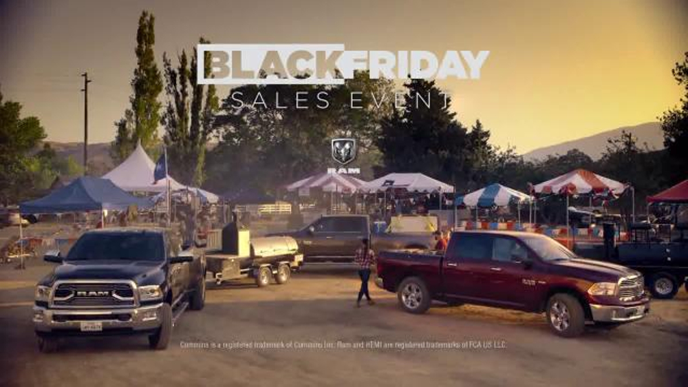 Ram Trucks Black Friday Sales Event TV Commercial, 'Lone Star Power' [T2]