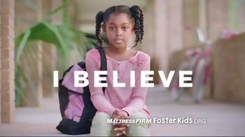 Mattress Firm Foster Kids Toy Drive TV Spot, 'I Believe' Feat. Simone Biles - Thumbnail 1