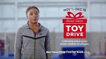 Mattress Firm Foster Kids Toy Drive TV Spot, 'I Believe' Feat. Simone Biles - Thumbnail 10