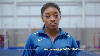 Mattress Firm Foster Kids Toy Drive TV Spot, 'I Believe' Feat. Simone Biles - Thumbnail 7