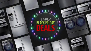 JCPenney Early Black Friday Deals TV Spot, 'Appliances'
