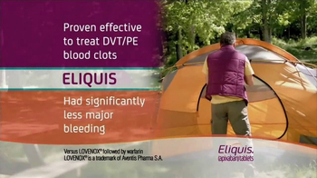 ELIQUIS TV Spot, 'DVT and PE Blood Clots: Camping' - Thumbnail 5