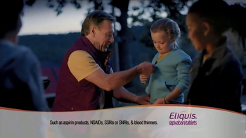 ELIQUIS TV Spot, 'DVT and PE Blood Clots: Camping' - 4338 commercial airings