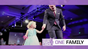 The National Hockey League TV Spot, '2016 Hockey Fights Cancer: One Family' - 714 commercial airings
