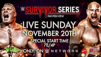 WWE Network TV Spot, 'Survivor Series: Lesnar vs. Goldberg'