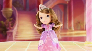 Magic Dancing Sofia the First Doll TV Spot, 'Disney Jr: An Enchanting Day'