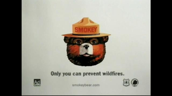 Smokey Bear Campaign TV Spot, 'Matches: It Only Takes One' - Thumbnail 8