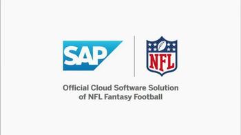 SAP Player Comparison Tool TV Spot, 'Top Receiver' - Thumbnail 1