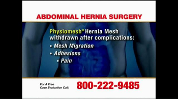 Pulaski Law Firm TV Spot, 'Abdominal Hernia Surgery' - Thumbnail 4