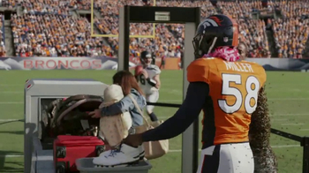 Old Spice Sweat Defense TV Spot, 'Be Harder' Featuring Von Miller - Thumbnail 6