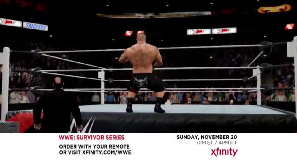 what channel is survivor series on comcast