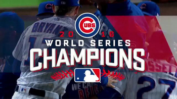MLB Shop TV Spot, 'Cubs World Series Champions' Song by OneRepublic - 3 commercial airings