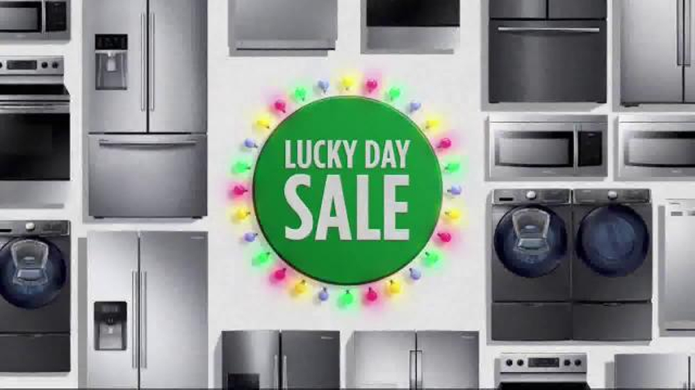 JCPenney Lucky Day Sale TV Commercial, 'Kitchen Appliances' - iSpot.tv