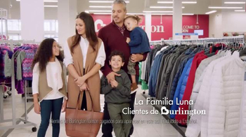 Burlington TV Spot, 'Familia Luna: abrigos y ahorros para todos' [Spanish]
