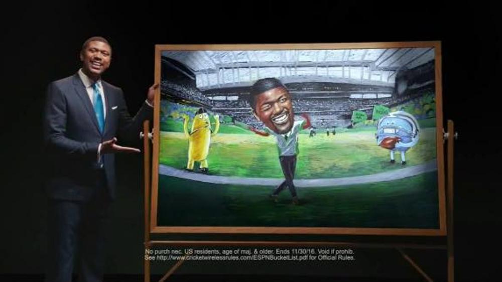 Cricket Wireless Bucket List Sweepstakes TV Commercial, 'Win' Ft. Jalen Rose