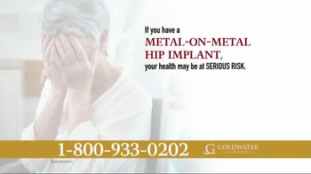 Goldwater Law Firm TV Spot, 'Over 500 Types of Hip Implants' - Thumbnail 4