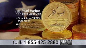 U.S. Money Reserve TV Spot, 'Pearl Harbor Solid Gold Coin'