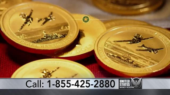 U.S. Money Reserve TV Spot, 'Pearl Harbor Solid Gold Coin' - Thumbnail 4