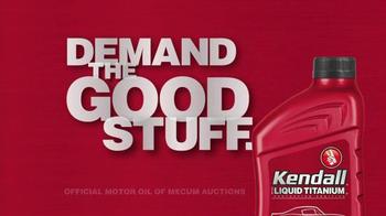 Kendall Liquid Titanium Motor Oil TV Spot, 'Demand the Good Stuff' - Thumbnail 9