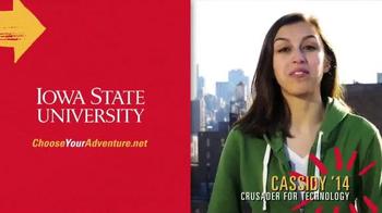 Iowa State University TV Spot, 'Cassidy's Adventure' - Thumbnail 9