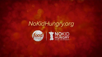 No Kid Hungry TV Spot, 'Food Network: Reality' - Thumbnail 9