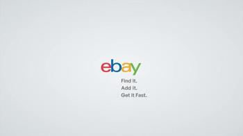 eBay TV Spot, 'The Gift That Makes Him Say, No Way' - Thumbnail 8
