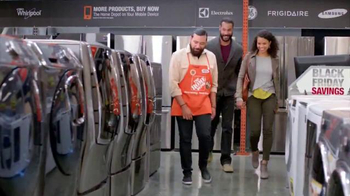 The Home Depot Black Friday Savings TV Spot, 'Lavadoras' [Spanish] - 106 commercial airings