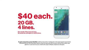Verizon TV Spot, 'Introducing Pixel: LTE Advanced' - Thumbnail 7