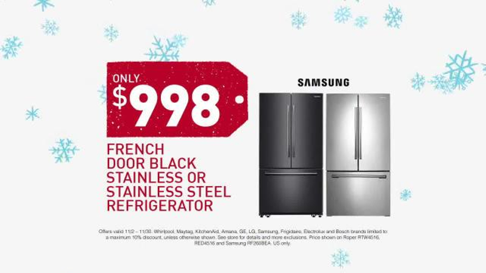 Lowes Black Friday Deals Tv Commercial Appliances Ispot