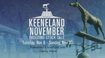 Keeneland November Breeding Stock Sale TV Spot, 'The Mares' - 5 commercial airings