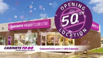 Cabinets To Go TV Spot, '50th Store Celebration: November' - 50 commercial airings