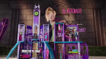 Monster High Deluxe High School TV Spot, 'Secrets and Surprises'