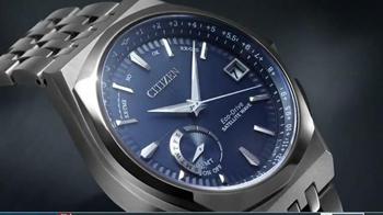 Citizen Eco-Drive Satellite Wave-World Time GPS Watch TV Spot, 'Light' - Thumbnail 1