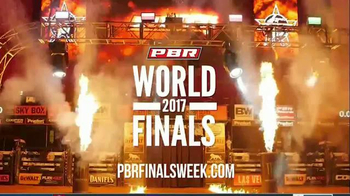 2017 PBR Built Ford Tough World Finals TV Spot, 'Lock In Your Seats'