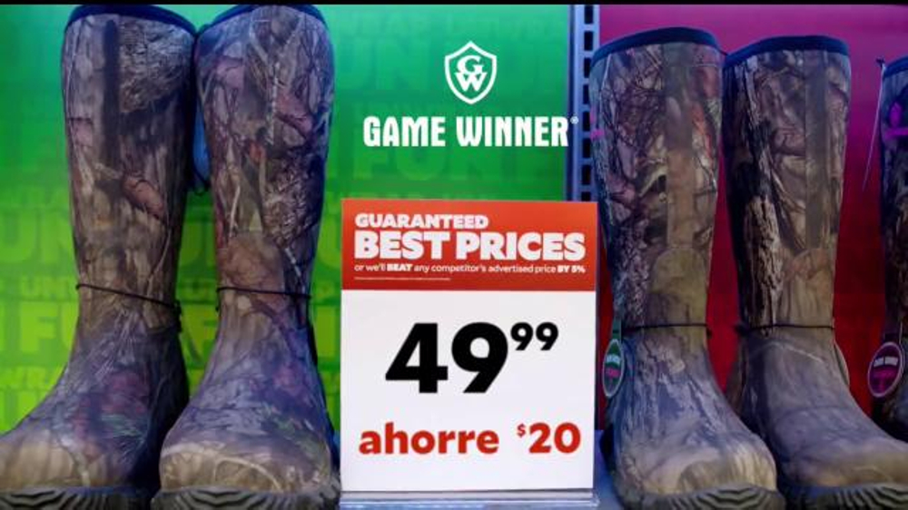 Academy Sports + Outdoors TV Commercial, 'Botas de campo'