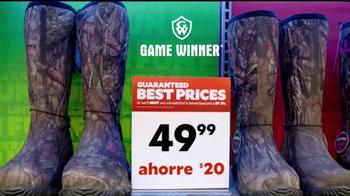 Academy Sports + Outdoors TV Spot, 'Botas de campo' [Spanish]