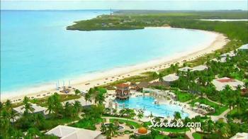 Sandals Resorts TV Spot, 'Emerald Bay Golf, Tennis & Spa Resort' - Thumbnail 3