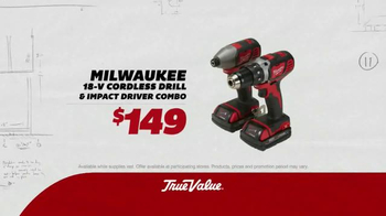 True Value Hardware TV Spot, 'Milwaukee Tools' - Thumbnail 2