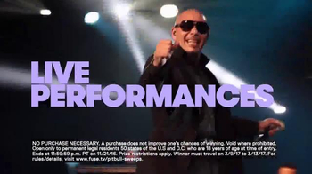 Fuse Cruisin' After Dark With PitBull VIP Sweepstakes TV Spot, 'Hang' - Thumbnail 9