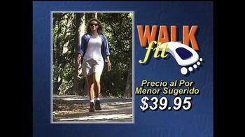 WalkFit Insoles TV Spot, 'Dolor de pie' [Spanish]