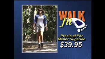 WalkFit Insoles TV Spot, \'Dolor de pie\' [Spanish]